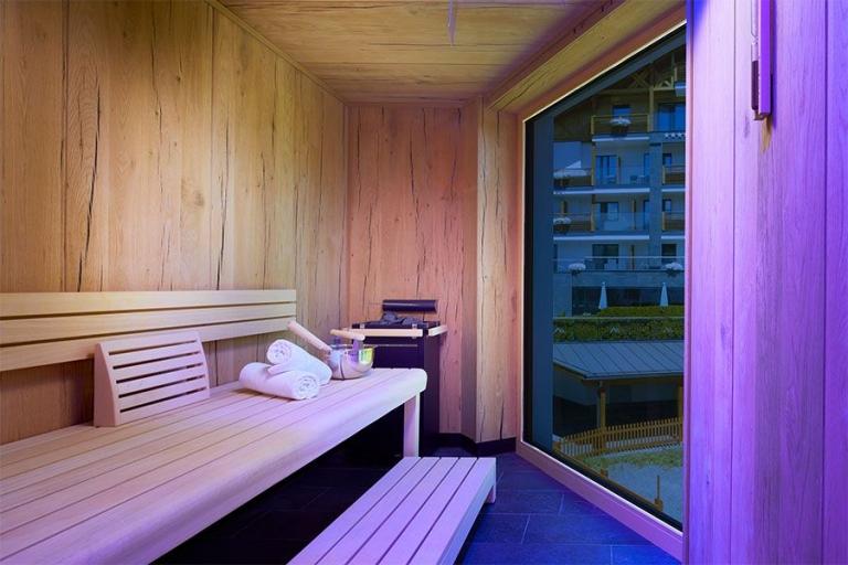 Grundriss Alpine-Genuss Sauna