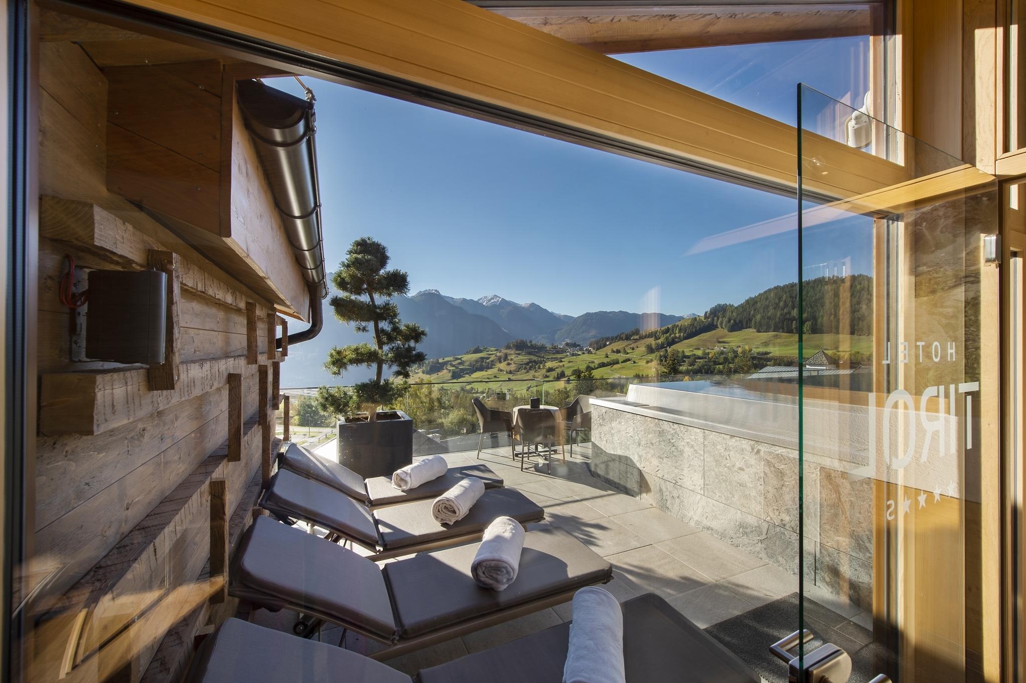 SKY Spa im Hotel Tirol