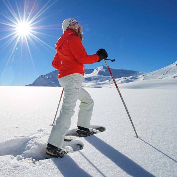 Winterurlaub Schneeschuhwandern