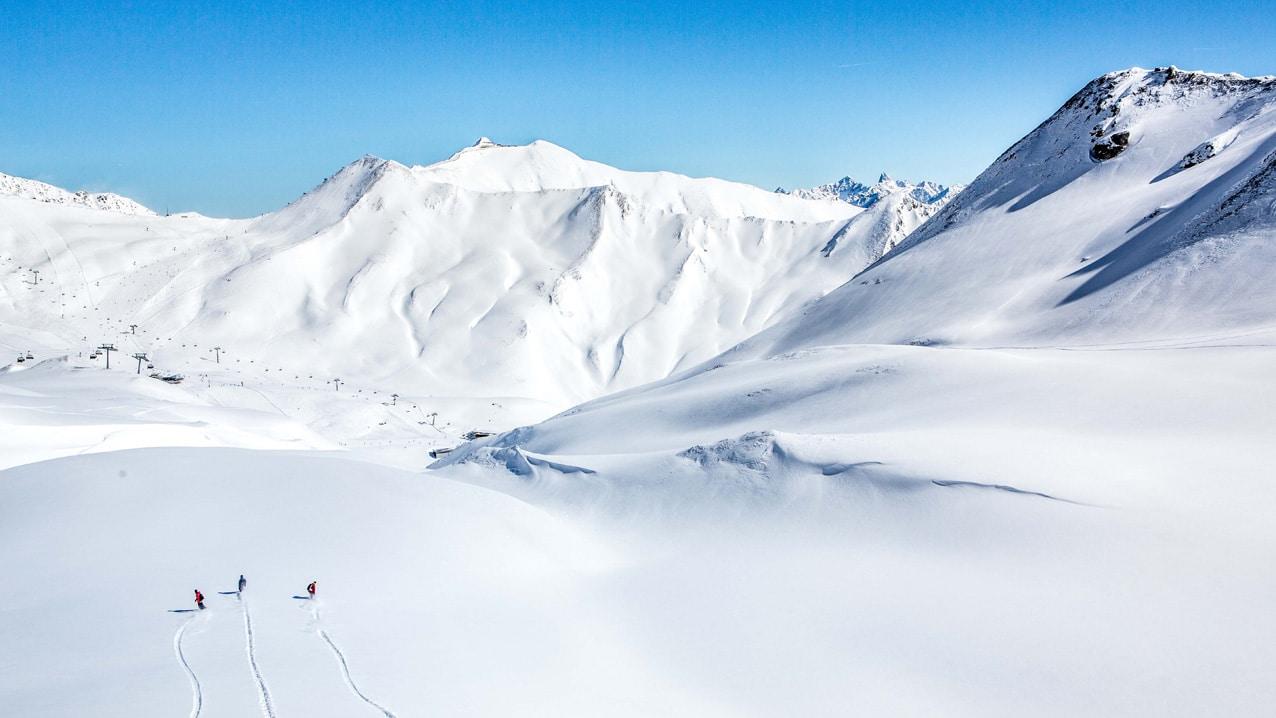 Panorama Serfaus Fiss Ladis Skigebiet