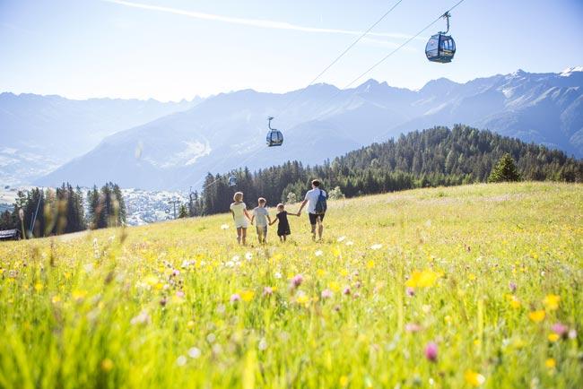 summer holiday in Fiss Hotel Tirol Fiss Alpine Lifestyle Hotel Serfaus Fiss Ladis Tyrol summer - Kopie