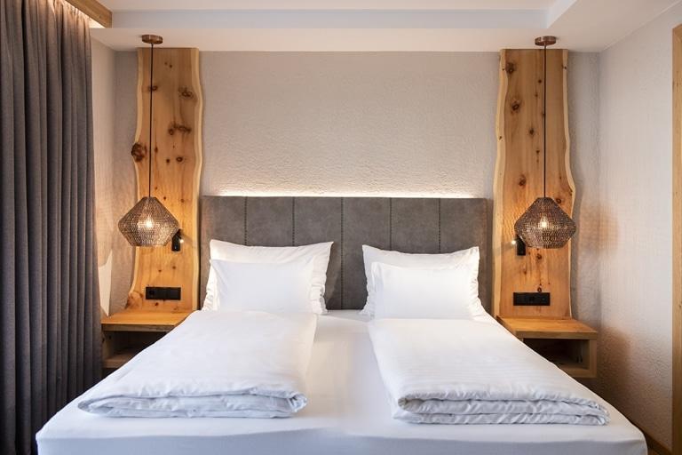 Zimmer Waldgängerin Bett