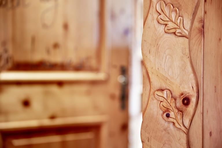 Zimmer Holzdetail